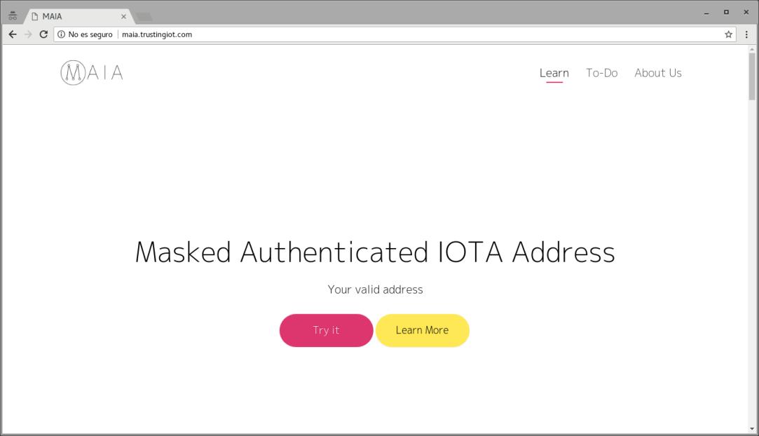 maia-website